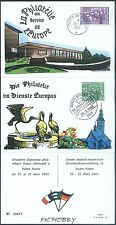 France Germany 1963 FDC Carnet Union Europa Cept