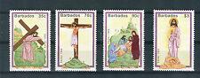 Barbados 1992  Pasqua Yvert 825 - 28  MNH