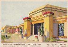 A9543) EXPOSITION INTERNATIONALE DE LIEGE 1930, PALAIS DES FETES.