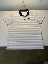 Men's Nike Dri Fit Short Sleeve Polo Size L Multicolor
