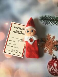 Elf - BABY GIRL Birth Certificate And Dummy Included