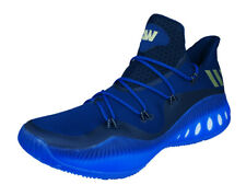 adidas Crazy Explosive Low Mens Basketball Trainers Court Shoes - Blue