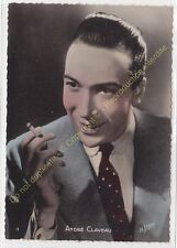 CPSM RPPC STAR ANDRE CLAVEAU Photo LE STUDIO Edit P.I. 3