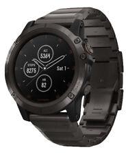Garmin fenix 5X Plus Sapphire GPS Watch  Carbon Gray DLC Titanium Band
