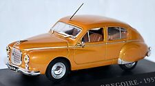 Hotchkiss Gregoire Limousine 1952 gold metallic 1:43