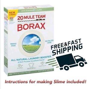 BORAX Original 20Mule Slime Activator powder, Sodium Tetraborate Decahydrate
