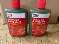 2 Cvs Health Itch Relief & Repellent For Chiggers And Other Insects 09/2022 New