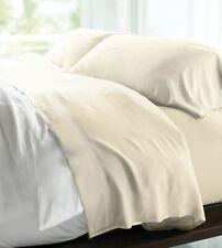 Cariloha Resort Bamboo Sheets - KING Size - COCONUT MILK New