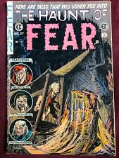 1954 HAUNT OF FEAR Golden Age COMIC vol.1 #27 EC comics HORROR sci-fi RARE