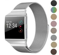 Milanese Loop Replacement Watch Band Strap for Fitbit Ionic Small Large Size
