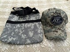 Metal Detector Diggers Pouch Bag  Garrett AT Pro Hat Cap Camo Recovery Treasure