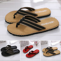 New Mens Sandals Flip Flops Beach Pool Thongs Fashion Summer Fit Shower Slippers