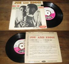 JOE AND EDDIE - Roll On French EP Northern Soul Funk 62 W/ Languette