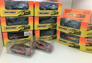 Matchbox RARE * Lot of 10 * Ford Probe GT * Limited Editions & More*1:64