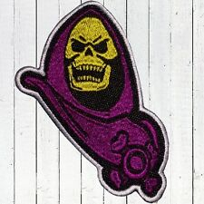 Skeletor Bust Embroidered Patch MOTU He-man Filmation Masters Universe Villain