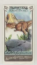 2010 Topps Allen & Ginter's Monsters of the Mesozoic Minis Giganotosaurus #Mm25