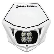 Baja Designs Squadron Sport Motorcycle LED Race Headlight White Shell