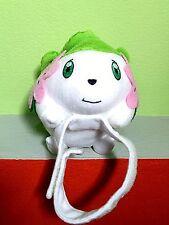 "SHAYMIN Plush Doll Figure 6"" Land Forme BANPRESTO Wrist Band 2008 Cute Toy HTF"