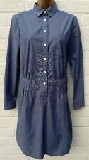 Banana Republic Blue Shirt Dress Size 8-10