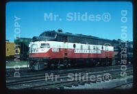 Original Slide WM Western Maryland Circus Paint F7A 7166 Baltimore MD 1977