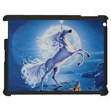 Unicorn And The Moon Tablet Case Cover For Apple Google Samsung