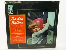THE RED BALLOON - Soundtrack LP - MARTIN & AL BARR Lamorisse VALLIN - H-72001