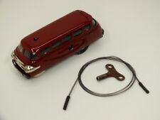 !!! Schuco Varianto Omnibus Dark Red 3044 with Key/tax Spiral well!!!