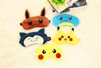 Cute Pokemon Soft Sleep Aid Mask Eye Shade Cover Aid Smart