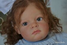 Reborn toddler baby child lifelike doll Tatiana Reva Schick by Sheva Dolls*IIORA