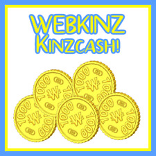 WEBKINZ 3000 KINZCASH FOR $2 - VIRTUAL KINZCASH COINS