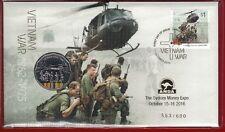 2016 ANDA Sydney Money Expo Overprint  with 50c, Vietnam War 1962-1975, #553