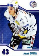 2006-07 Czech Bili Tygri Liberec Postcards #1 Jakub Cutta