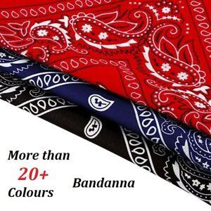 PAISLEY BANDANA bandanna headwear/hair band scarf neck wrist wrap band head tie