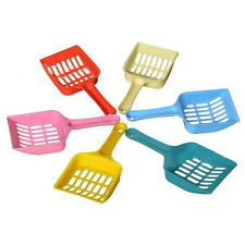 Hot New Plastic Pet Dog Puppy Cat Litter Scoop Sand Waste Scooper Tool Randomly