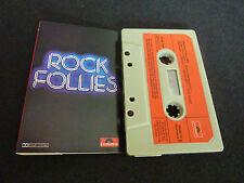 ROCK FOLLIES ULTRA RARE SOUNDTRACK CASSETTE TAPE! BOB HOSKINS