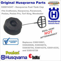 530014347 530010729 Husqvarna Fuel Cap Assembly w/ Retainer for Trimmers & More