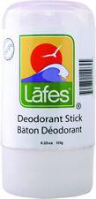 Natural Crystal Deodorant Stick, Lafes Natural Body Care, 4.25 oz