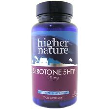 Higher Nature Serotone 5HTP 50mg 90 Capsules