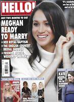 Hello Magazine Meghan Markle Oscars Queen Elizabeth Kate Middleton Debbie McGee