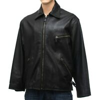 Porsche Designer Lederjacke Leather Jacket - Made in Italy - Size: XL  (LJ426u)