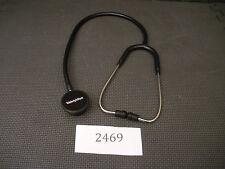 """Welch Allyn Stethoscope, Adult, 28"""", Black, Dual Head"""