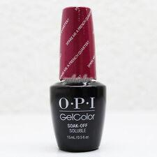 OPI GelColor Soak Off LED/UV Gel Nail Polish Spare Me a French Quarter ? #GCN55