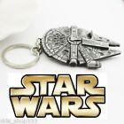 STAR WARS Millennium FALCON Figurine metal replica keychain Key chain Grogu
