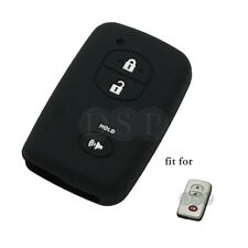 Silicone Cover fit for TOYOTA 4Runner Prius Smart Remote Key 3 Button CV2404 BK