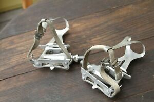 Campagnolo Croce d'Aune pedals USED VGC large clips