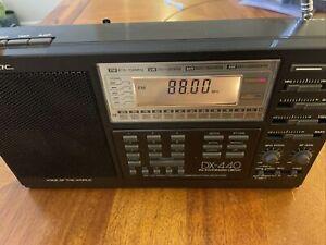 Realistic DX-440 Voice Of The World Shortwave Radio Receiver AM/FM/SW/LW VINTAGE