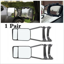 2Pcs Car SUV Truck Trailer Clip-on Towing Dual Mirror Adjustable Extends Vision