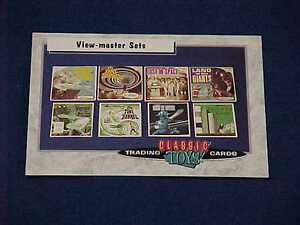 CLASSIC TOYS TRADING CARDS SCI-FI VIEW MASTER VIEWMASTER SETS