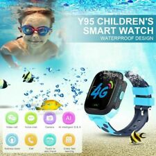 Waterproof Kids Smart Watch Anti-lost Safe GPS SOS Call 4g Full NETCOM Ac2199