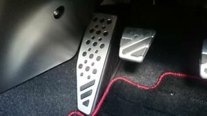 MITSUBISHI LANCER EVOLUTION X OEM GENUINE ALUMINUM FOOT REST PEDAL COVER KIT 5MT